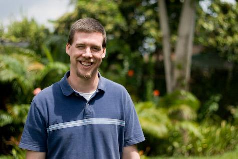 Deron Meilstrup, a missionary counselor in Abidjan, Cote d'Ivoire