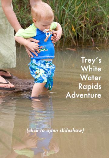 Trey's White Water Rapids Adventure