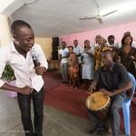 Akwaba at Treichville Baptist Church in Abidjan, Cote d'Ivoire